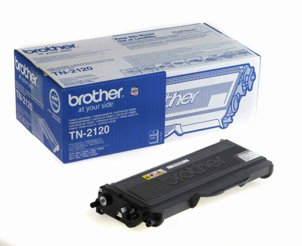 Original Black Brother Toner Cartridge (TN-2120)