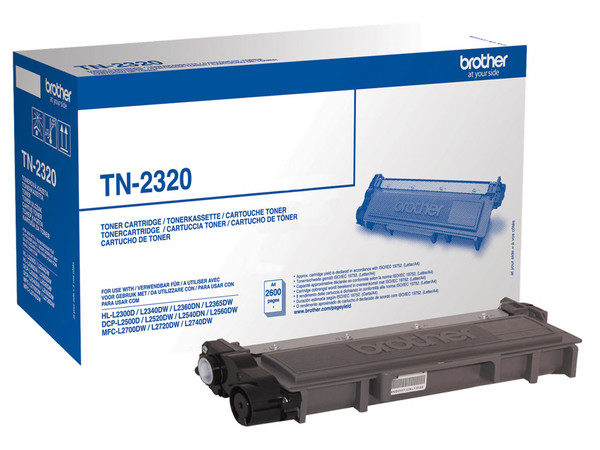 Original Black Brother Toner Cartridge (TN-2320)