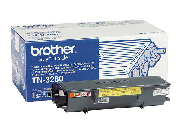 Original Black Brother Toner Cartridge (TN-3280)
