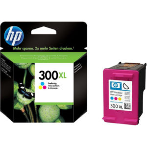 Original Tri-Colour HP 300XL Ink Cartridge