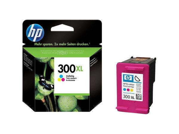 Original Tri-Colour HP 300XL Ink Cartridge