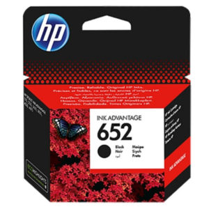 Original Black HP 652 Ink Cartridge