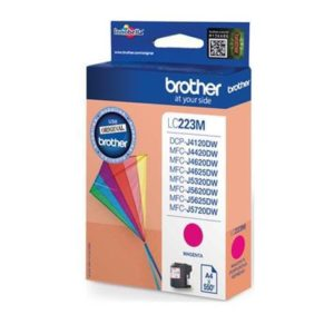 Original Magenta Brother LC223 Ink Cartridge