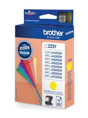Original Yellow Brother LC223 Ink Cartridge