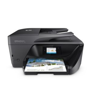HP OfficeJet Pro 6970 All-in-One Color Inkjet Printer, A4, Print, Copy, Scan, Fax & Wireless