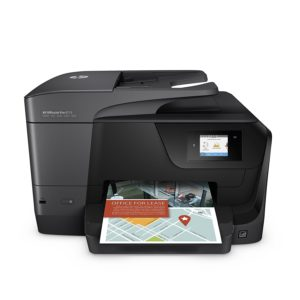 HP OfficeJet Pro 8715 All-in-One Color Inkjet Printer, A4, Print, Copy, Scan, Fax & Wireless