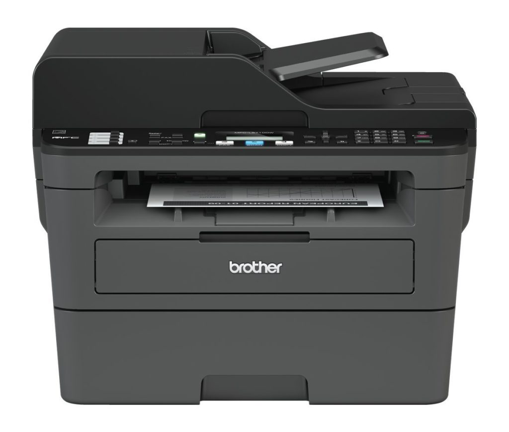 Brother MFC-L2710DW Mono Laser Printer, A4, Print, Copy, Scan, Fax, Duplex Two-Sided Printing & Wireless