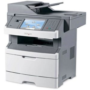 Lexmark X466de Refurbished Mono Laser Printer, A4, Print, Copy, Scan, Fax, Duplex