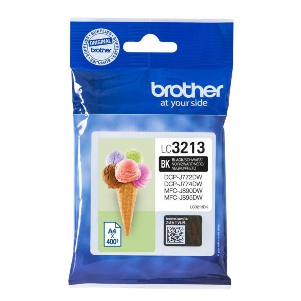 Original Black Brother Ink Cartridge (LC-3213)