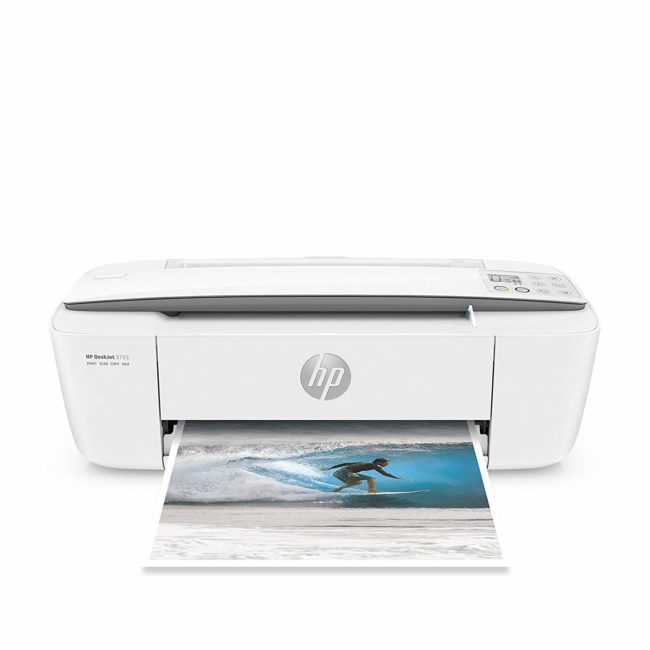 HP Deskjet 3775 All-in-One Color Inkjet Printer, A4, Print, Copy, Scan & Wireless