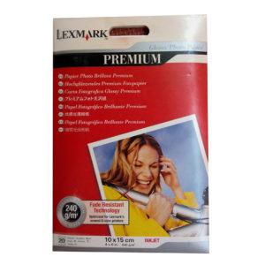 LEXMARK A6 240gr Glossy Premium Photo Paper