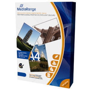 MediaRange A4 250gr High-Glossy Photo Paper