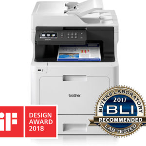 Brother DCP-L8410CDW Wireless Colour Laser Printer, A4 Print, Copy, Scan