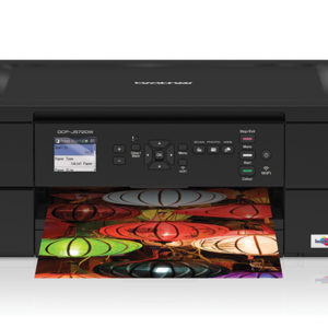 Brother Colour Inkjet DCP-J572DW Printer, A4 Print, Copy, Scan, Duplex (Two-sided) Printing, Wi-Fi