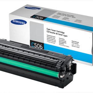 Original Cyan Samsung C506L Toner Cartridge (CLT-C506L/ELS)