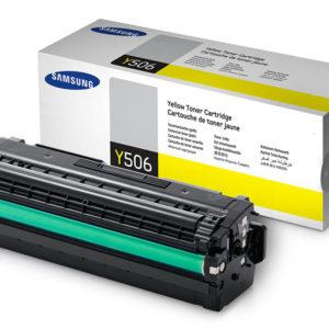 Original Yellow Samsung Y506L Toner Cartridge (CLT-Y506L/ELS)