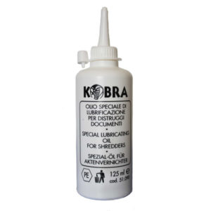 Kobra Lubricating Oil for Shredder