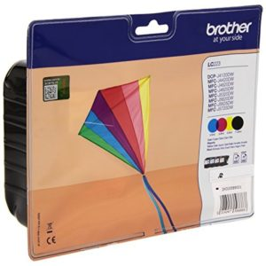 Original Multipack Brother LC223 All 4 Colour Set Ink Cartridges (LC223BK/LC223C/LC223M/LC223Y)