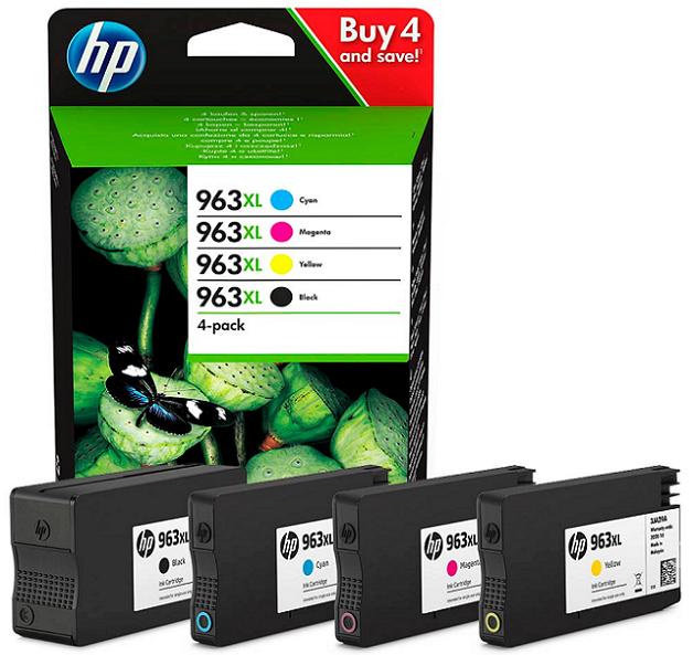 HP Ink cartridge 963xl-multipack