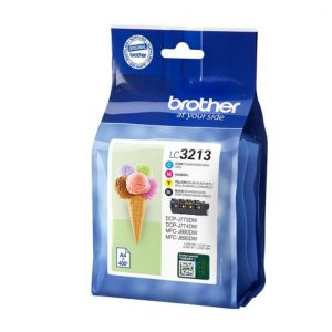 Original Brother LC3213 Multipack All 4 Colour Set Ink Cartridges