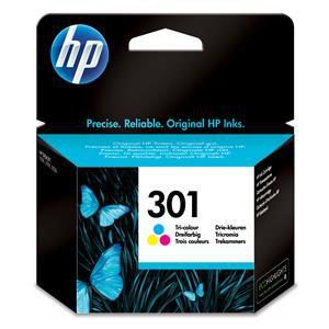 Original HP 301 Tri-Colour Ink Cartridge (CH562EE) - Ecomelani