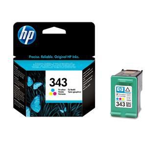 Original HP 343 Tri-Colour Ink Cartridge (C8766EE) - Ecomelani