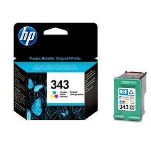 Original HP 343 Tri-Colour Ink Cartridge (C8766EE) - Ecomelani