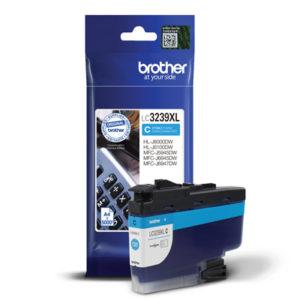 Original Cyan Brother Ink Cartridge (LC3239XLC)