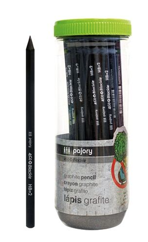 Black Graphite Pencil HB Pajory - Ecomelani