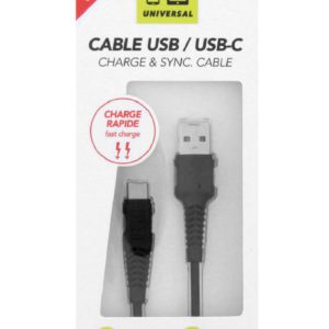 TNB 2M Black USB-C To USB Cable - Ecomelani