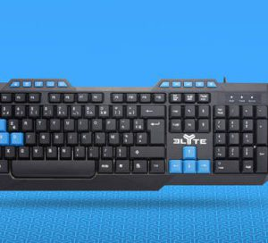 TNB 4 In 1 Elyte Gaming Pack (K/B + Mouse + Headphones + Pad) - Ecomelani
