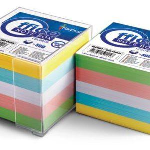 Memo Cube Colours With Dispenser 800pcs - Ecomelani