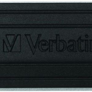 4GB Pinstripe USB Flash Drive Black - Ecomelani