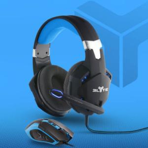 TNB 2 In 1 Elyte Gaming (Mouse + Headphones) - Ecomelani