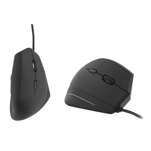 TNB Ergonomic Vertical Wired Mouse - Ecomelani