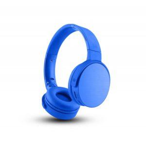 TNB Shine Bluetooth 2.1 Headphones Blue + SD Card Reader + FM Radio - Ecomelani