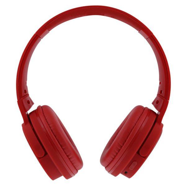 TNB Shine Bluetooth 2.1 Headphones Red + SD Card Reader + FM Radio - Ecomelani
