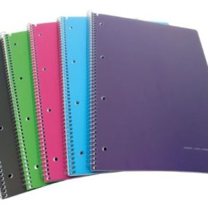 Spiral Note Book PP A5 120 Sheets - Ecomelani