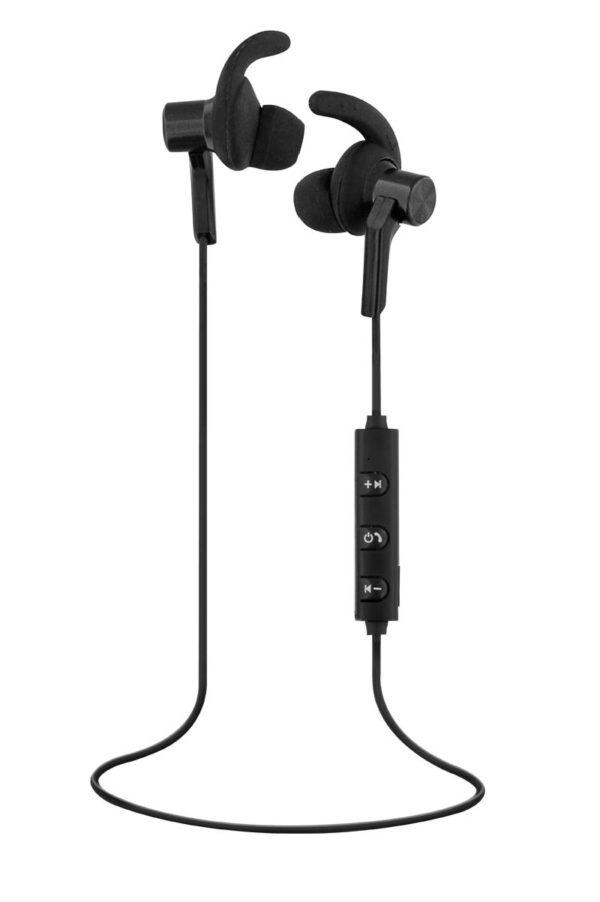TNB Black Bluetooth 4.0 Earphones Sport - Ecomelani