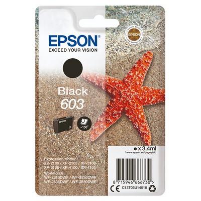 Original EPSON 603 Black Ink - Ecomelani