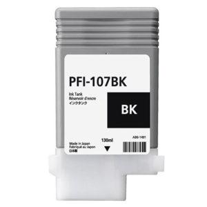 Original Canon PFI-107BK Ink Cartridge (PFI107BK) - Ecomelani
