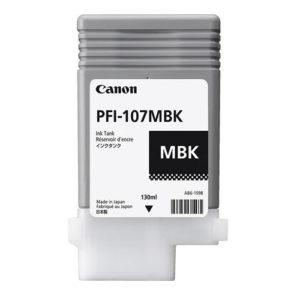 Original Canon PFI-107MBK Ink Cartridge (PFI107MBK) - Ecomelani