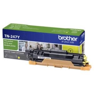 Original Yellow Brother TN-247Y Toner Cartridge (TN247Y) - Ecomelani