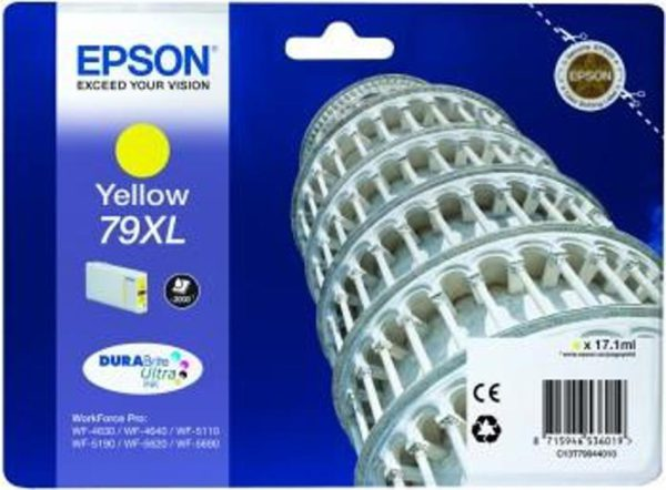 Original EPSON 79XL Yellow Ink - Ecomelani