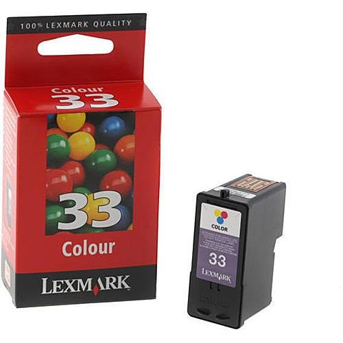 Original 33 Tricolor Ink Cartridge Lexmark 18C0033E - Ecomelani