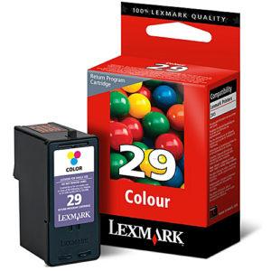 Original 29 Tricolor Ink Cartridge Lexmark 18C1429E - Ecomelani