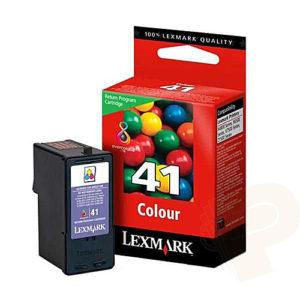 Original 41 Tricolor Ink Cartridge Lexmark 18Y0141E - Ecomelani