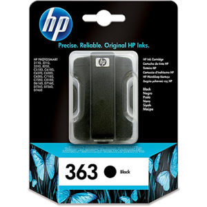 Original Black Ink Cartridge HP 363B (C8721EE) - Ecomelani
