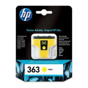 Original Yellow Ink Cartridge HP 363Y (C8773EE) - Ecomelani