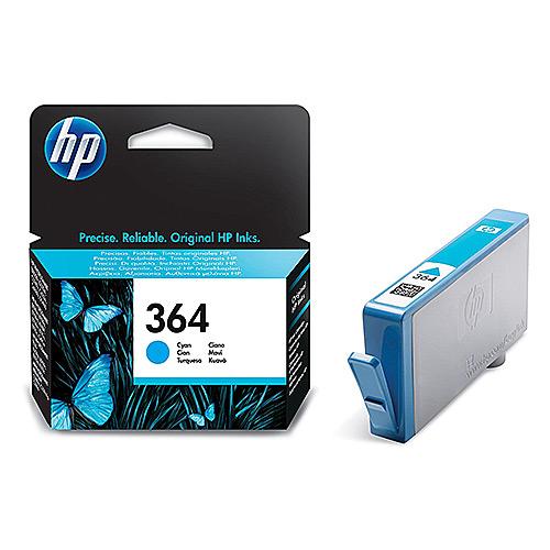 Original Cyan Ink Cartridge HP 364C (CB318EE) - Ecomelani
